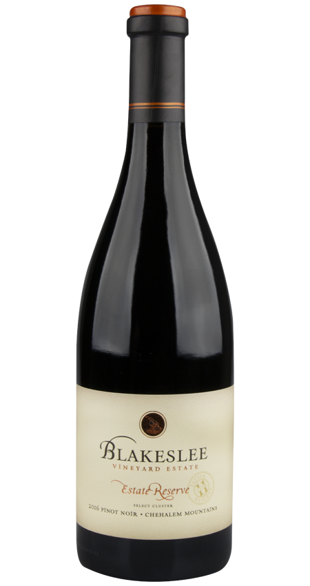 92 Pt. Willamette Valley Pinot Noir Estate Reserve 2016 Blakeslee Vineyard