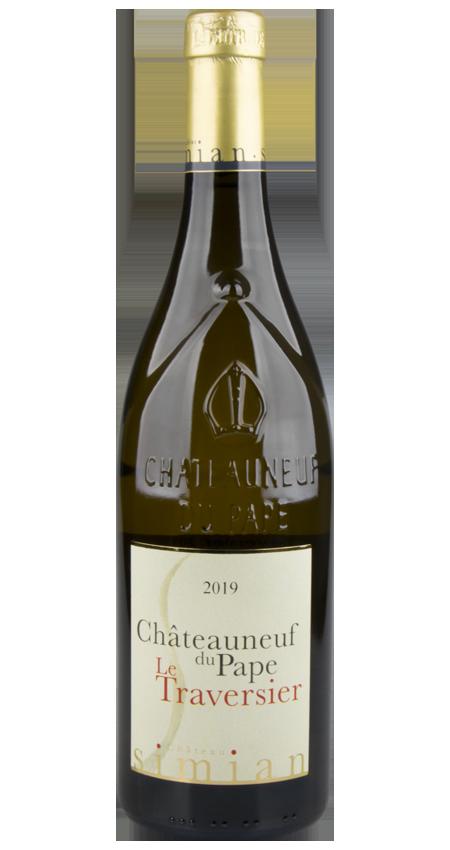 Château Simian Le Traversier Châteauneuf du Pape Blanc 2019