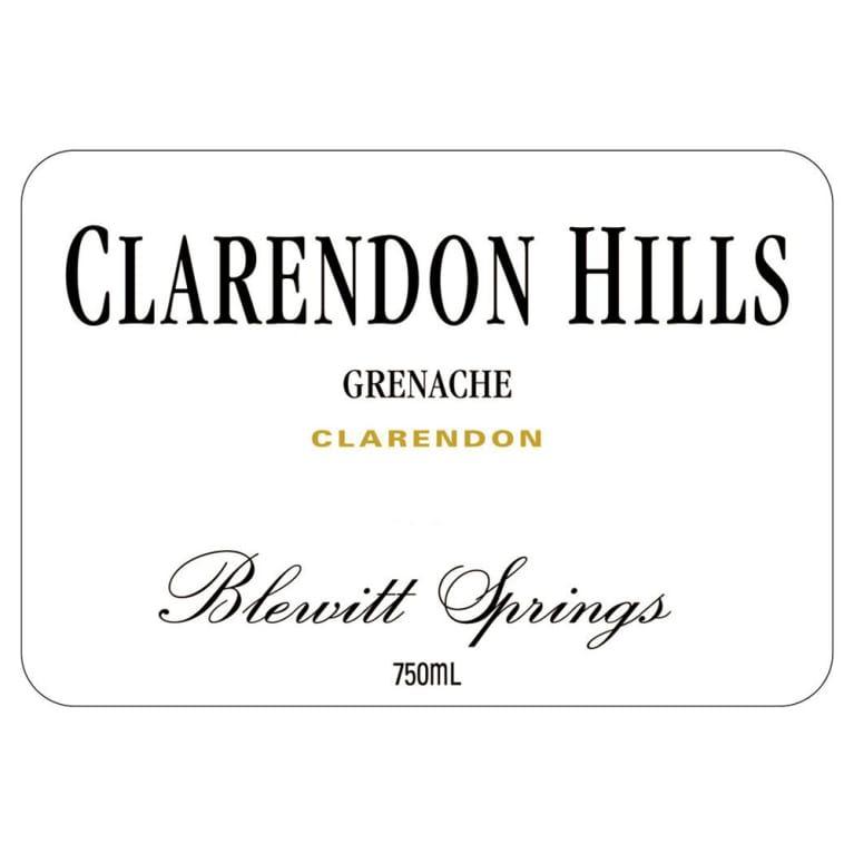 Clarendon Hills Blewitt Springs Grenache 2011