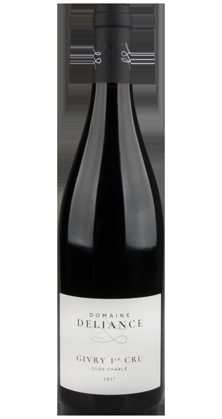 Domaine Deliance Givry 1er Cru Clos Charlé Burgundy Pinot Noir 2017