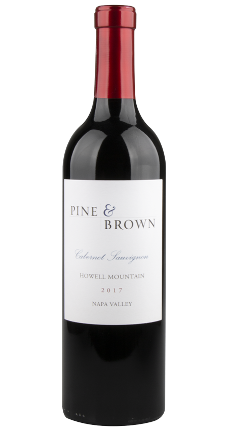 Pine and Brown Howell Mountain Cabernet Sauvignon 2017