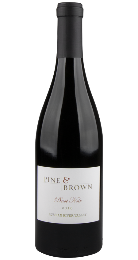 Pine and Brown Russian River Valley Pinot Noir 2018