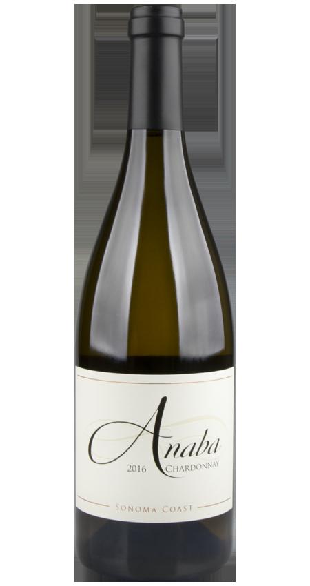 94 Pt. Anaba Wines Sonoma Coast Chardonnay 2016
