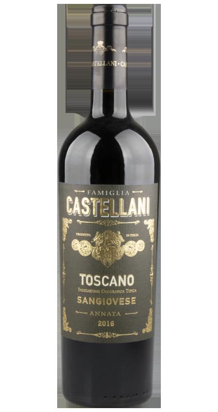 94 Pt. Famiglia Castellani Sangiovese Toscano IGT 2016
