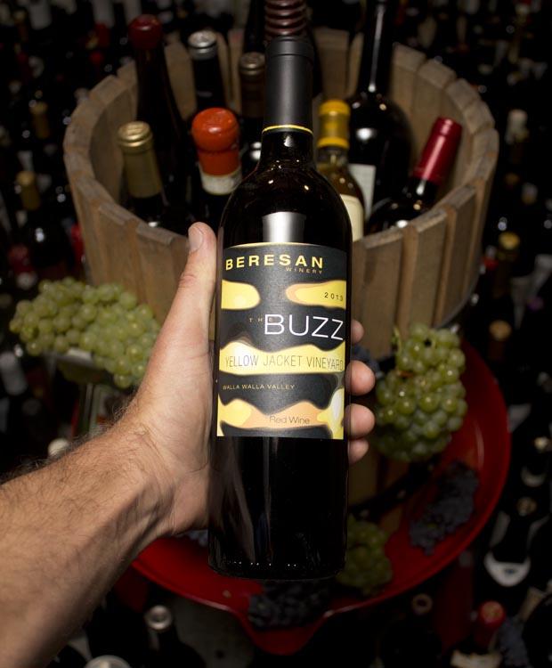 Beresan The Buzz Red Blend Yellow Jacket Vineyard 2013