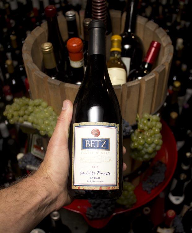 Betz Family Winery La Cote Rousse Syrah Red Mountain 2017