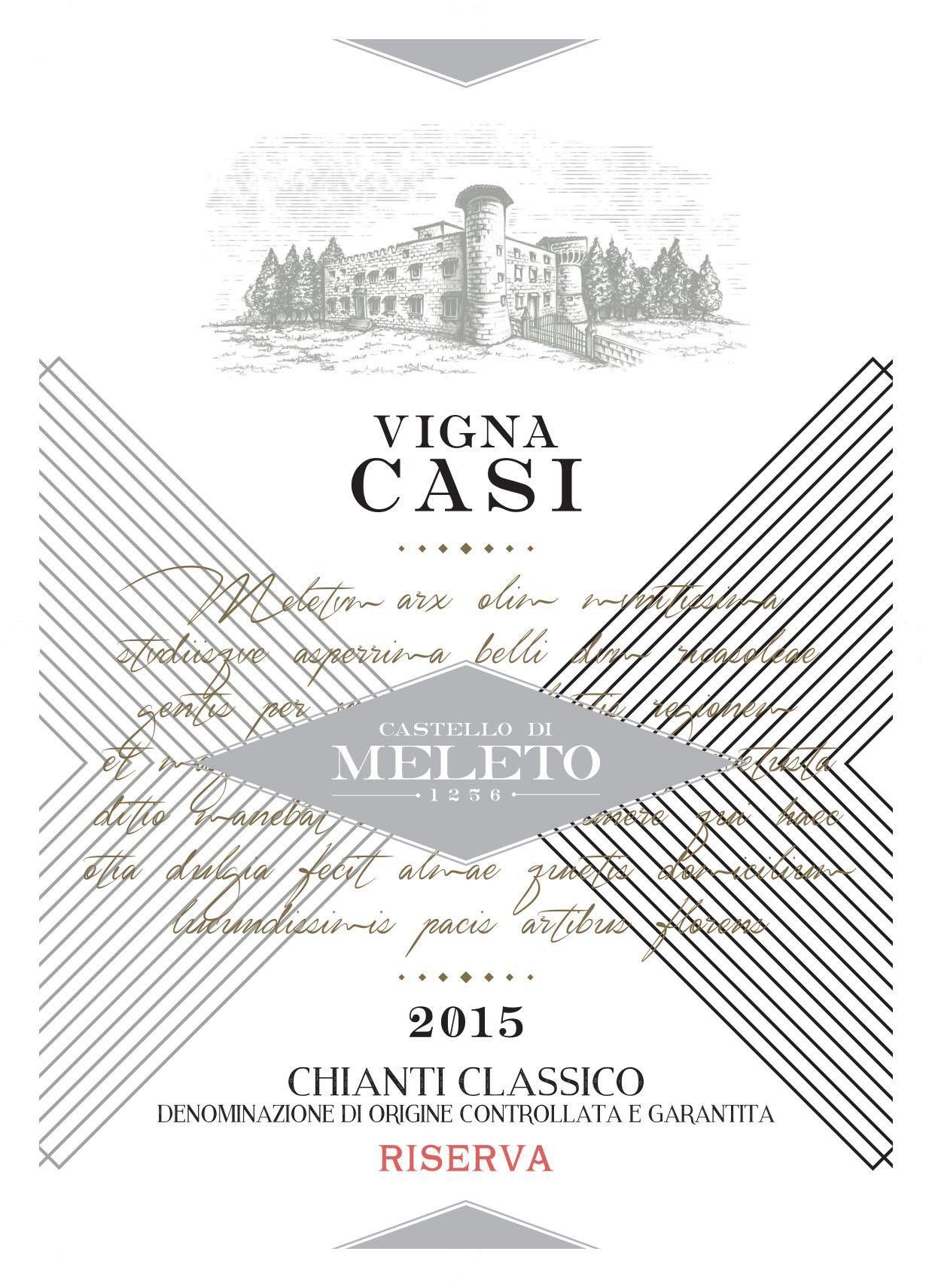 Castello di Meleto Vigna Casi Chianti Classico Riserva 2015
