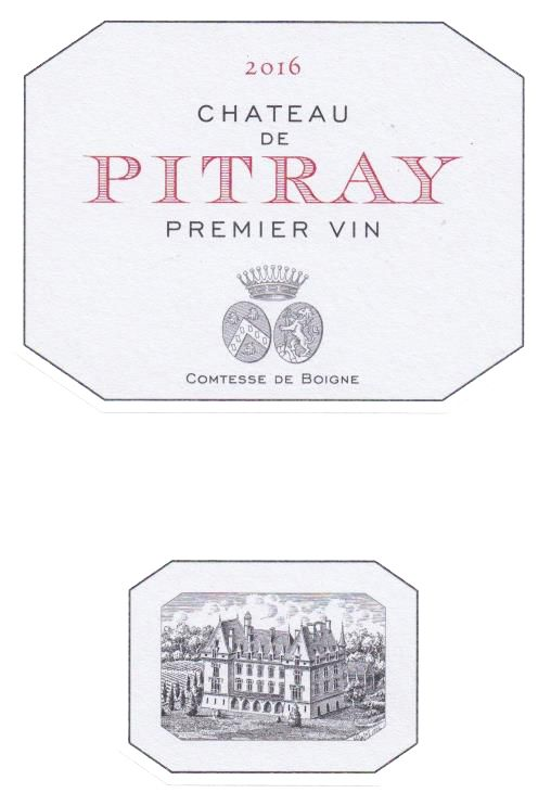 Chateau Pitray 2016