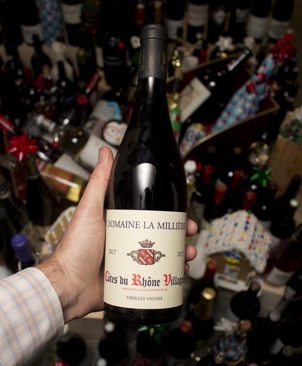 Domaine la Milliere Cotes du Rhone Vieilles Vignes Villages 2017