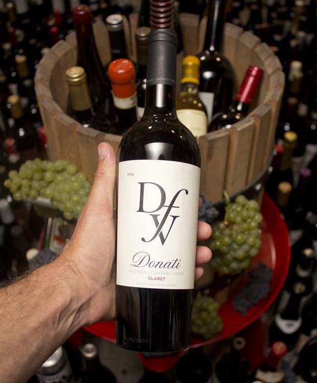 Donati Family Vineyard Claret Paicines 2014