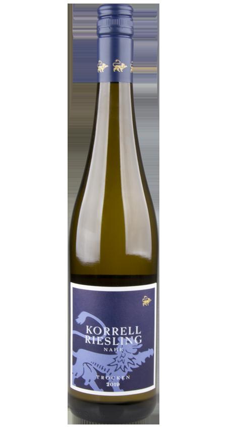 Dry Riesling Trocken Korrell Winery Nahe 2019