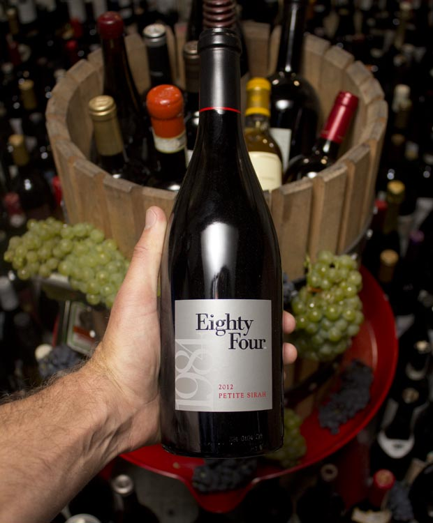 Eighty Four Petite Sirah Napa Valley 2012
