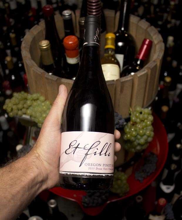 Et Fille Pinot Noir Deux Vert Vineyard 2015