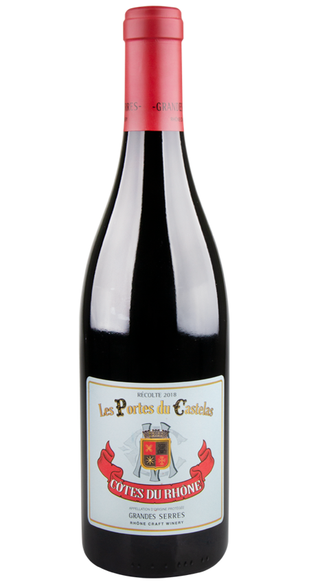 Grandes Serres Côtes-du-Rhône Red Les Portes du Castelas 2018