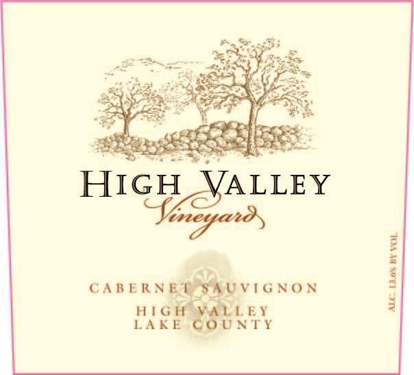 High Valley Vineyards Cabernet Sauvignon 2017
