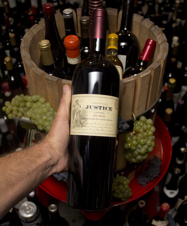 Justice Frontier Justice Proprietary Red Beckstoffer Dr. Crane Vineyard 2016 (1.5L)