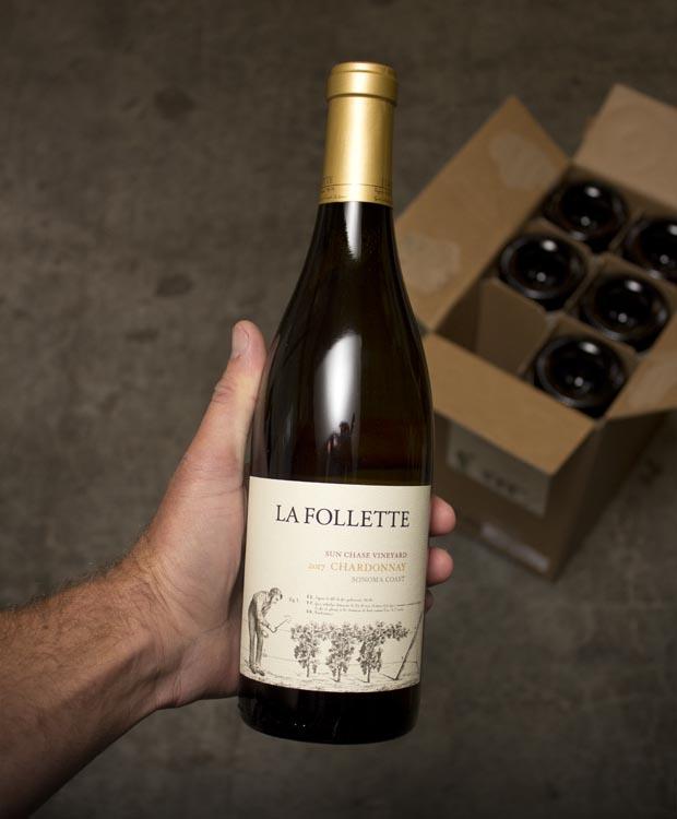 La Follette Chardonnay Sun Chase Vineyard Sonoma Coast 2017