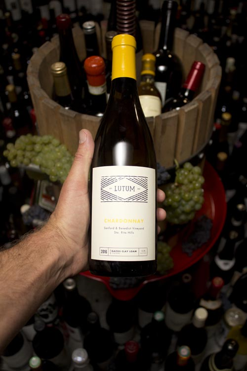Lutum Chardonnay Sanford & Benedict Vineyard Sta. Rita Hills 2016