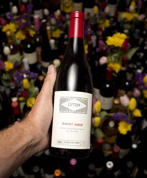 Lutum Pinot Noir Sanford & Benedict 2013