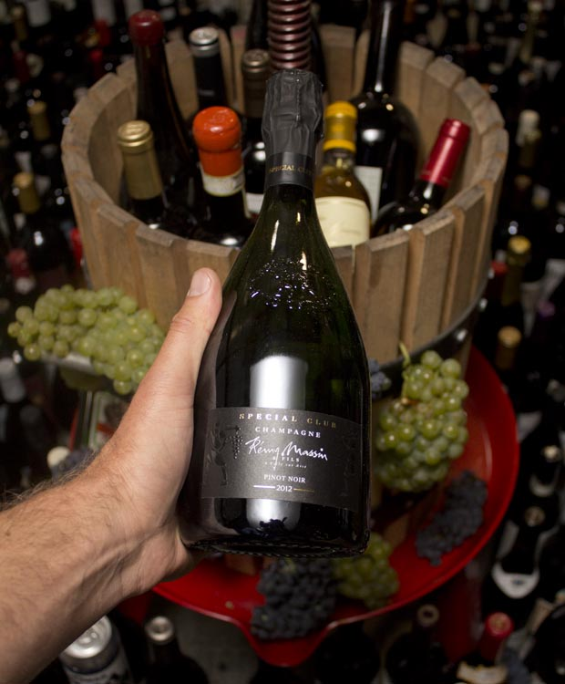Remy Massin Extra Brut Special Club Pinot Noir 2012