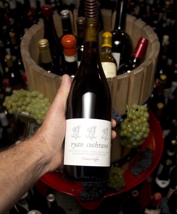 Ryan Cochrane Pinot Noir Solomon Hills Vineyard 2015