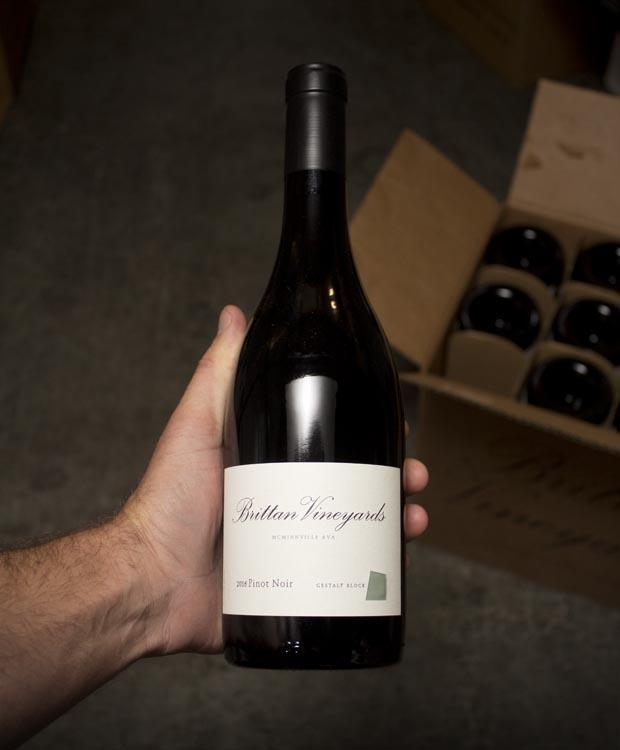 Brittan Vineyards Pinot Noir Gestalt Block 2016
