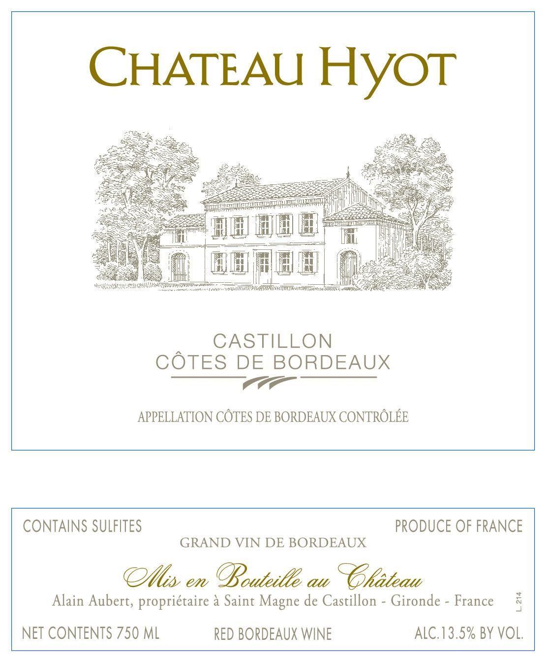 Chateau Hyot 2018