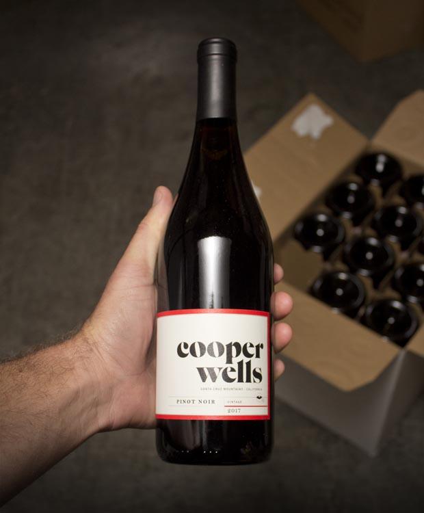 Cooper Wells Pinot Noir Santa Cruz Mountains 2017
