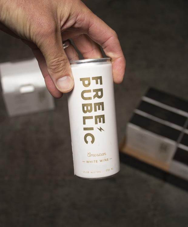Free Public White NV (250mL Can)