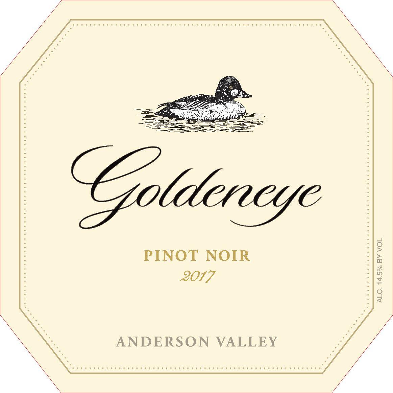 Goldeneye Anderson Valley Pinot Noir 2017