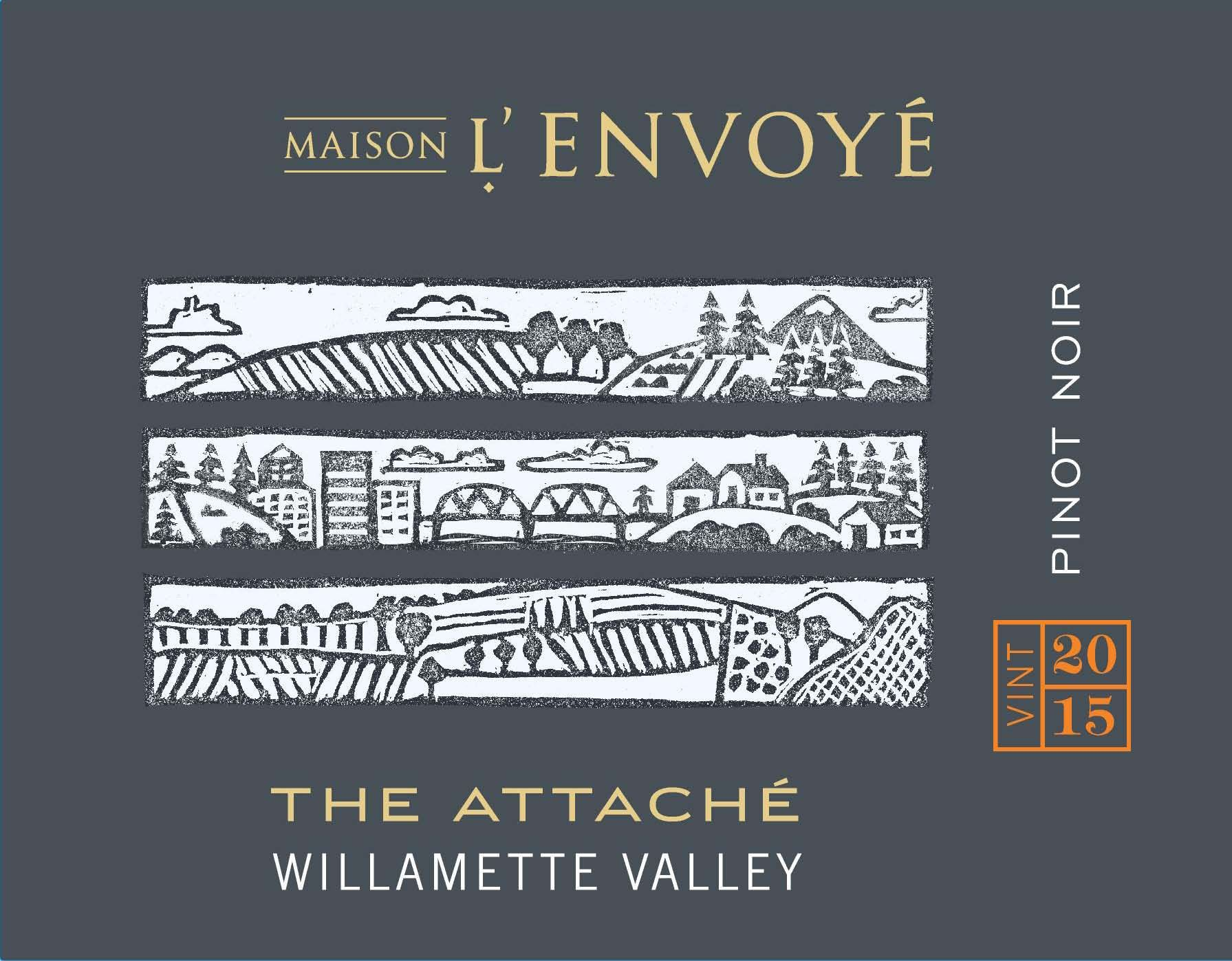 Maison L'Envoye The Attache Pinot Noir 2015