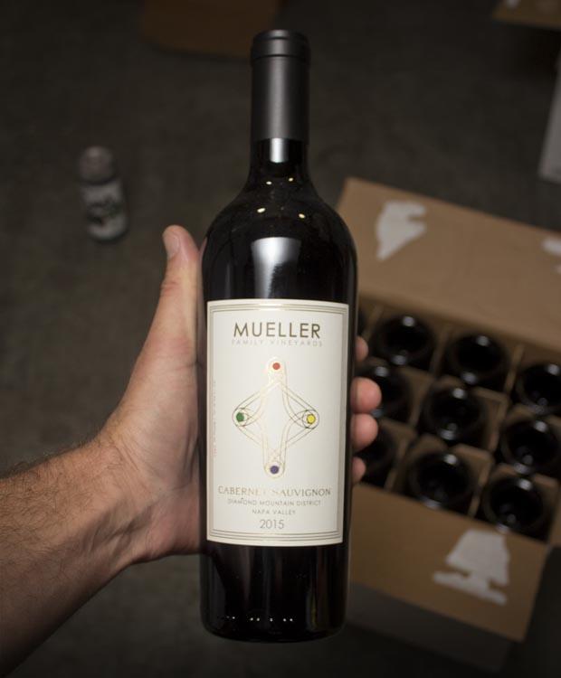 Mueller Family Vineyards Diamond Mountain Cabernet Sauvignon 2015