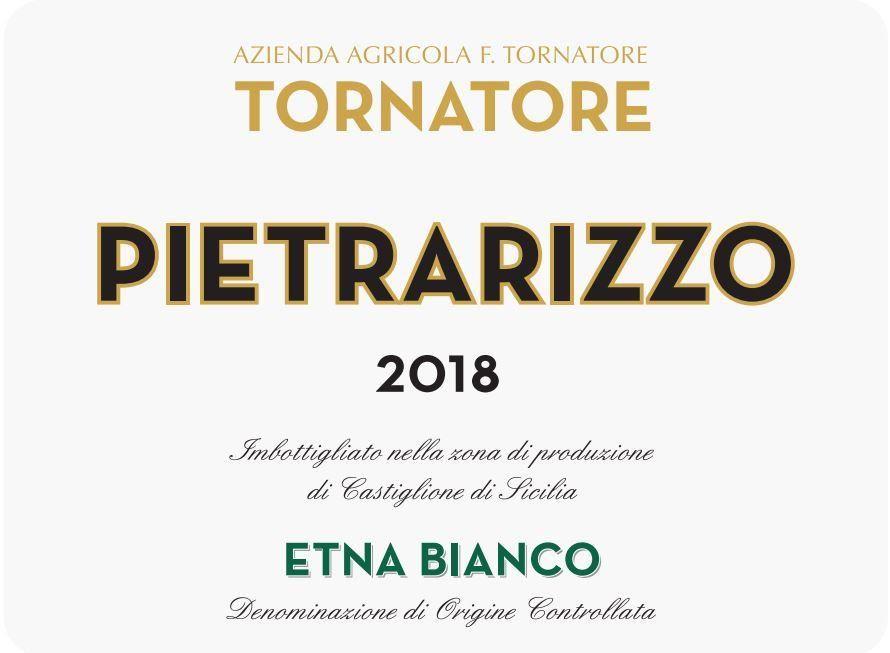 Tornatore Pietrarizzo Etna Bianco 2018