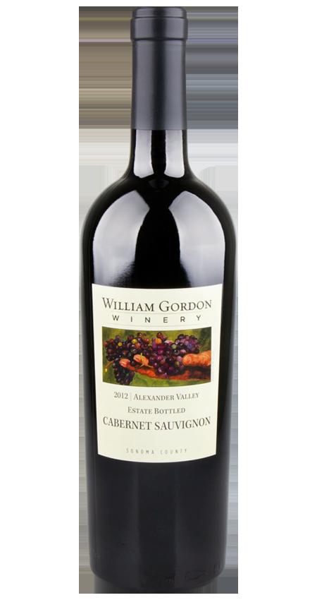 William Gordon Winery 2012 Cabernet Sauvignon Estate