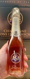 375ML Half Bottle Ritz Champagne Rose by Barons de Rothschild