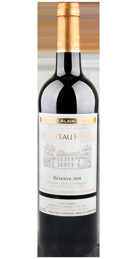 92 Pt. Château Hyot Réserve Castillon Côtes de Bordeaux 2018