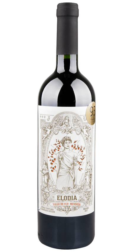 93 Pt. Elodia El Manzano Don Arturo Estate Single Vineyard Malbec 2017