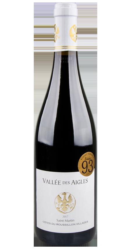 93 Pt. Vallée des Aigles Côtes du Roussillon Villages Cuvée Saint Martin 2017