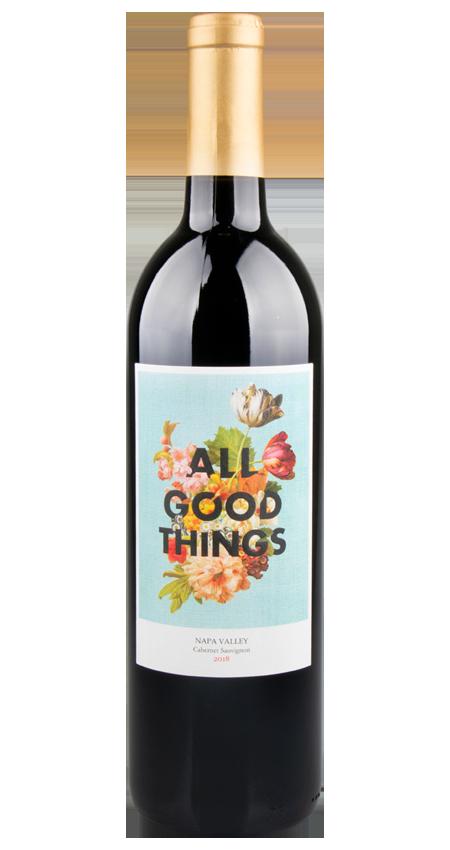 All Good Things Wine Napa Valley Cabernet Sauvignon 2018