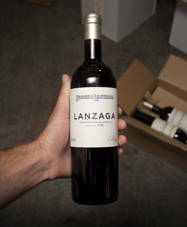 Bodegas Lanzaga Rioja 2014