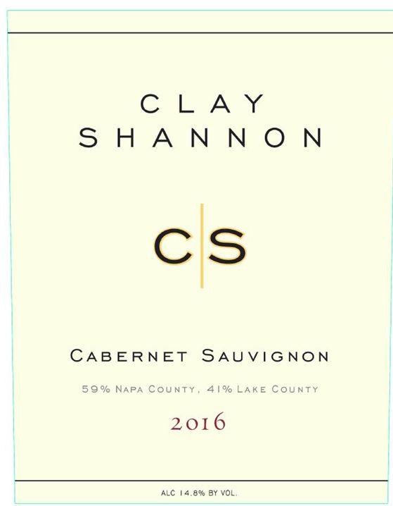 Clay Shannon Cabernet Sauvignon 2016