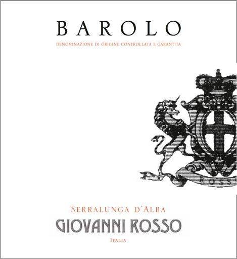 Giovanni Rosso Barolo 2015