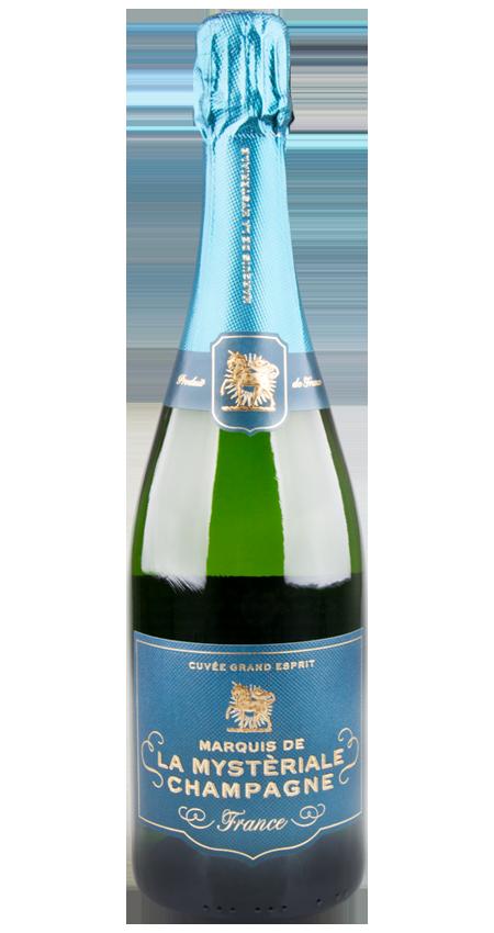 Marquis de la Mystèriale Champagne NV Cuvée Grand Esprit