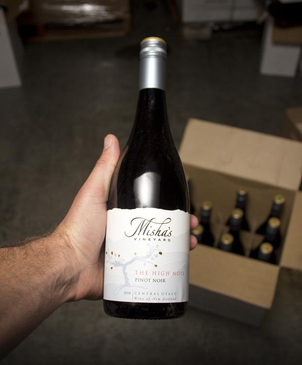 Misha's The High Note Pinot Noir Central Otago 2018