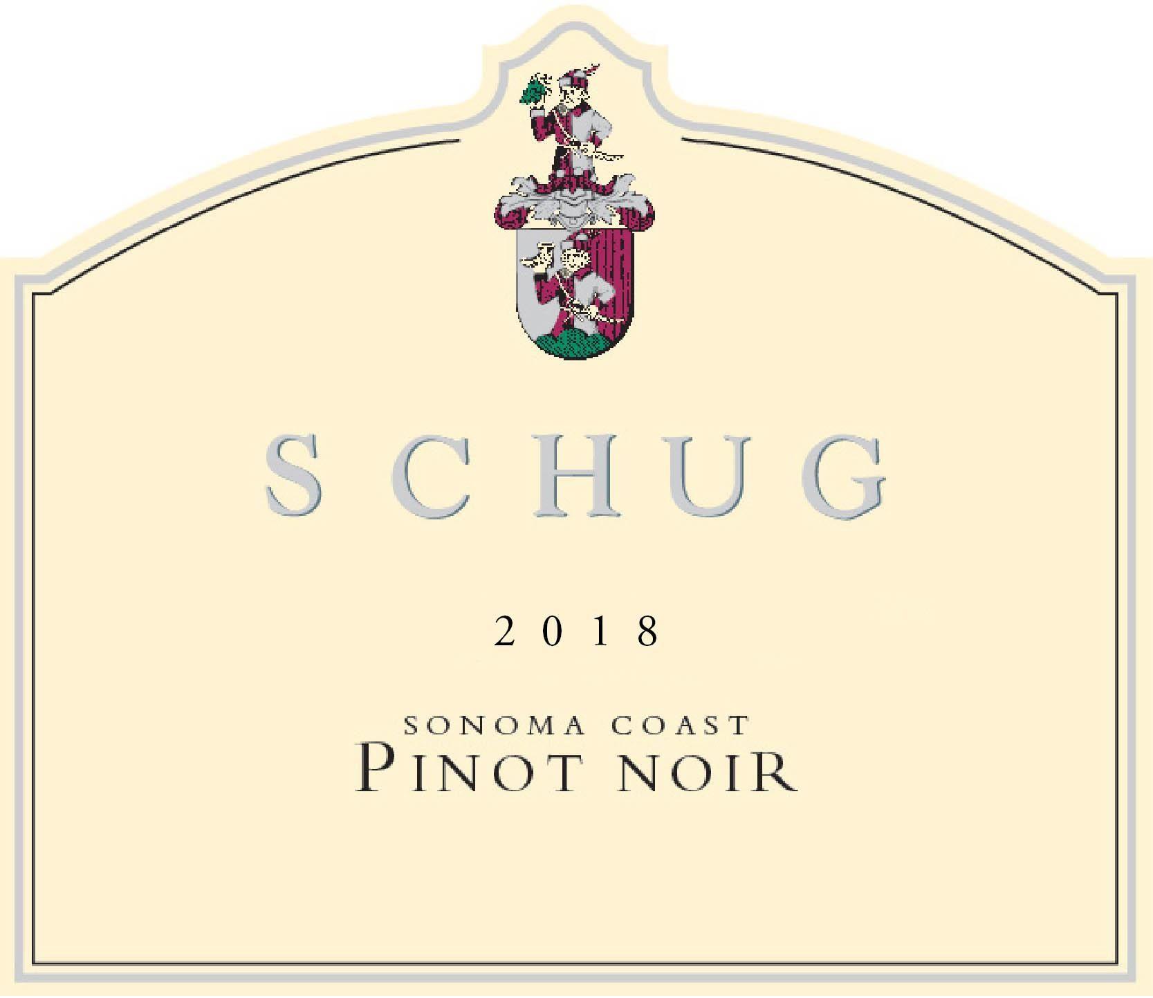 Schug Sonoma Coast Pinot Noir 2018