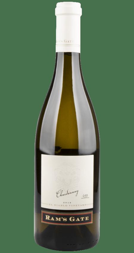 96 Pt. Ram's Gate Winery Chardonnay El Diablo Vineyard 2016