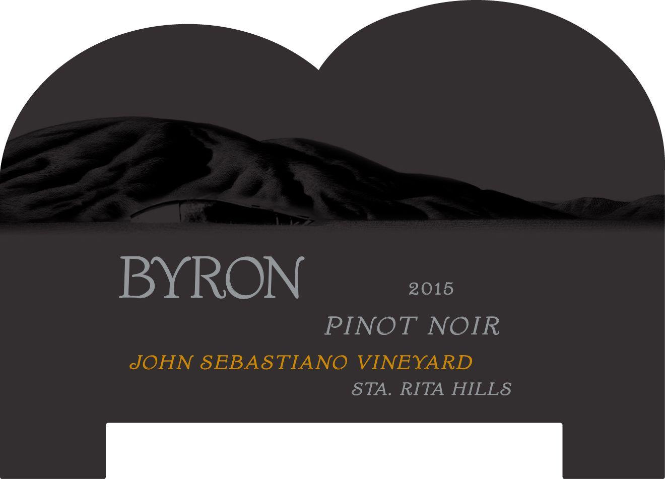 Byron John Sebastiano Vineyard Pinot Noir 2015