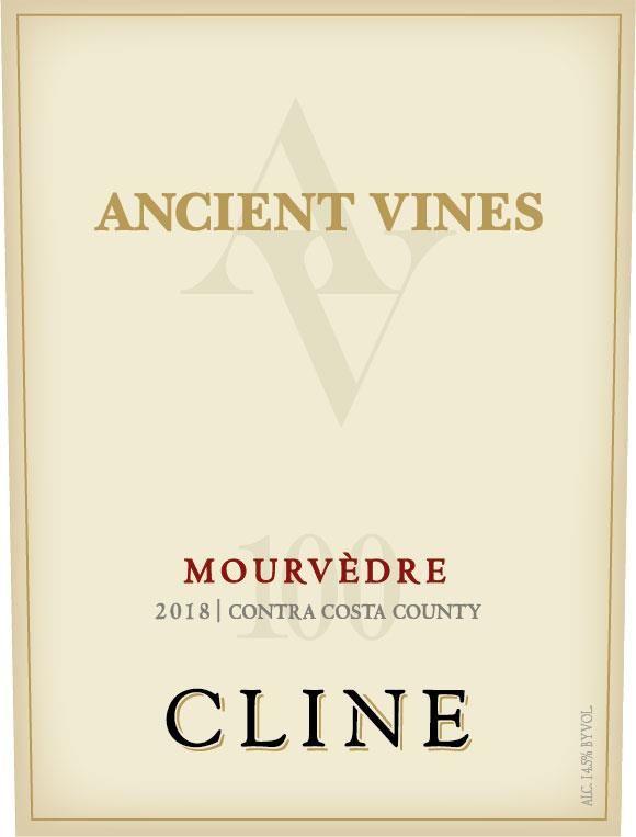 Cline Ancient Vines Mourvedre 2018