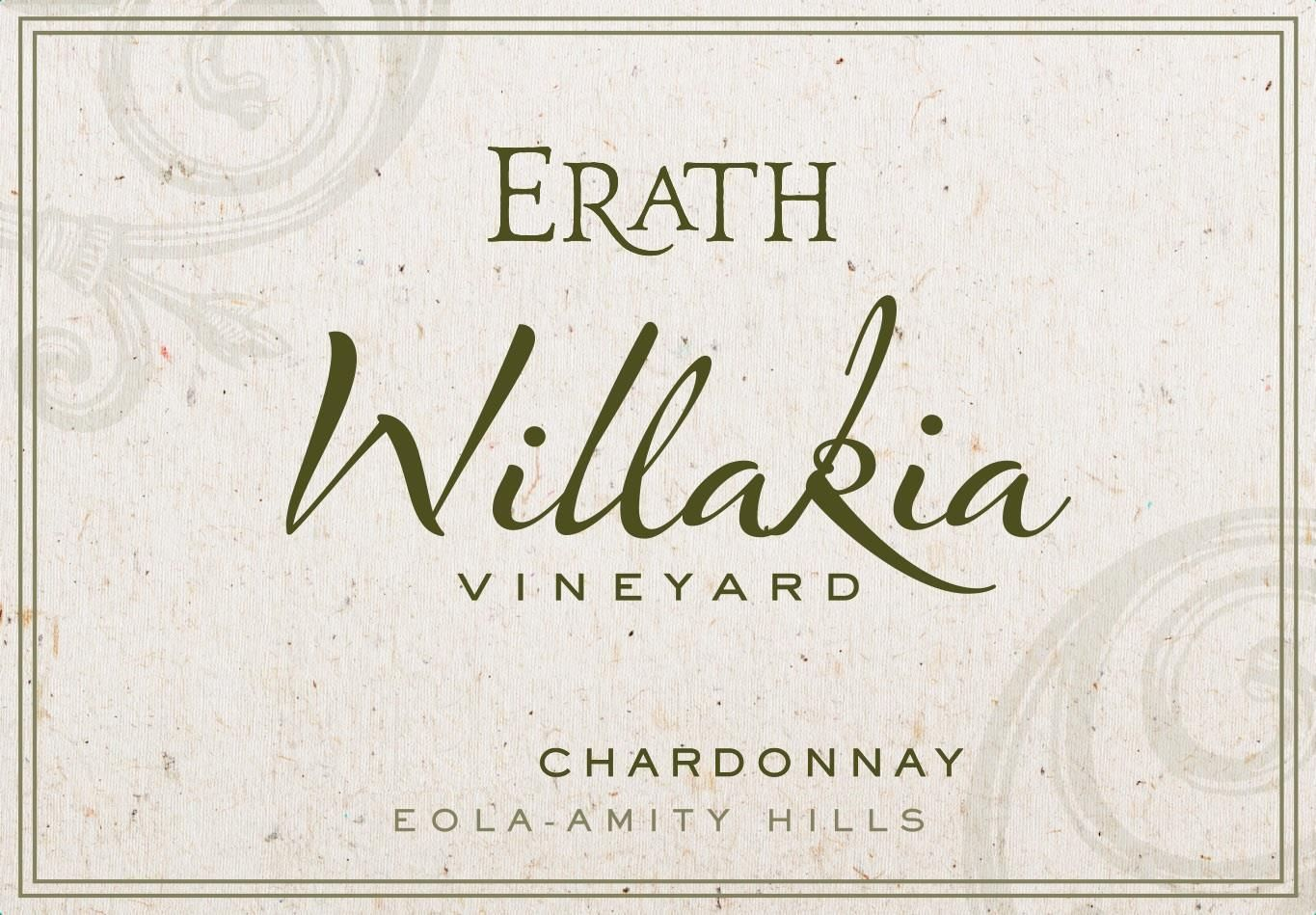 Erath Willakia Vineyard Chardonnay 2015