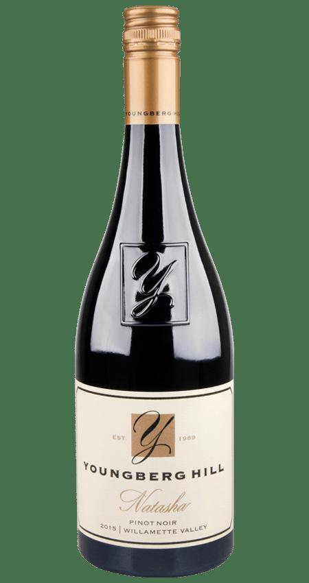 92 Pt. Willamette Valley Pinot Noir 2015 Youngberg Hill 'Natasha'